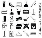 household icons. set of 25... | Shutterstock .eps vector #1017182056
