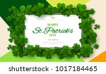 Saint Patrick's Day Card With...