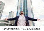 ambitious young businessman... | Shutterstock . vector #1017213286