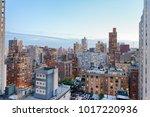 new york city  usa. amazing... | Shutterstock . vector #1017220936