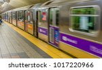 new york subway station fast... | Shutterstock . vector #1017220966