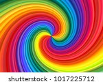 background of vivid rainbow... | Shutterstock .eps vector #1017225712