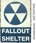 Fall Out Shelter Signboard