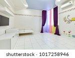interior children's room...   Shutterstock . vector #1017258946