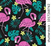 Seamless Pattern With A...