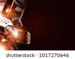 vegas gambling copy space 3d... | Shutterstock . vector #1017270646