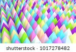 holographic pyramids background.... | Shutterstock . vector #1017278482