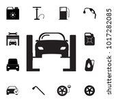 car lifted icon. set of car... | Shutterstock .eps vector #1017282085