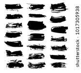 big set of abstract textured... | Shutterstock .eps vector #1017305938