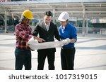 engineers and entrepreneur ... | Shutterstock . vector #1017319015