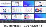 modern elements of infographics ... | Shutterstock .eps vector #1017320545