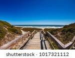 beautiful ponte vedra beach on... | Shutterstock . vector #1017321112