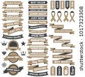 vintage retro vector logo for...   Shutterstock .eps vector #1017323308