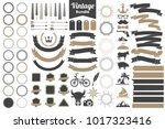 vintage retro vector logo for... | Shutterstock .eps vector #1017323416