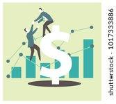 business helping design | Shutterstock .eps vector #1017333886