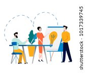 professional training ... | Shutterstock .eps vector #1017339745