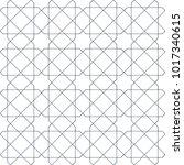 entwined modern pattern  based... | Shutterstock .eps vector #1017340615