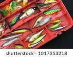 Various Fishing Lures In The...