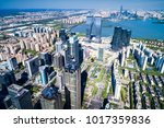 suzhou city skyline taken from... | Shutterstock . vector #1017359836