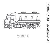line flat vector icon... | Shutterstock .eps vector #1017370012