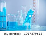 test tubes closeup  science... | Shutterstock . vector #1017379618