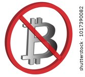 3d cryptocurrency  no bitcoin.... | Shutterstock .eps vector #1017390082