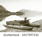 copy of old lithographic... | Shutterstock . vector #1017397132