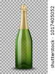 vector realistic green with... | Shutterstock .eps vector #1017405052
