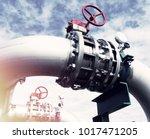 industrial zone  steel... | Shutterstock . vector #1017471205