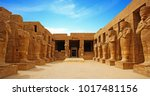 Ancient Ruins Of Karnak Temple...