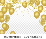 celebration party banner with... | Shutterstock .eps vector #1017536848