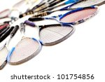 Squash rackets - isolated over a white background - stock photo