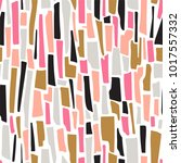 terrazzo striped seamless... | Shutterstock .eps vector #1017557332
