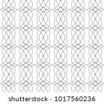 seamless vector pattern in... | Shutterstock .eps vector #1017560236