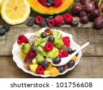 Fruit Salad With Fruits...