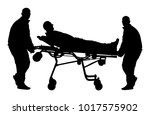 first aid training  help after... | Shutterstock .eps vector #1017575902