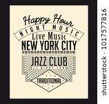 vector illustration of new york ... | Shutterstock .eps vector #1017577816