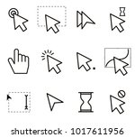 set of mouse icons | Shutterstock .eps vector #1017611956