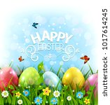 Vector Illustration. Easter...