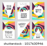 abstract vector layout... | Shutterstock .eps vector #1017630946