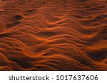 amazing view of rippled sand... | Shutterstock . vector #1017637606