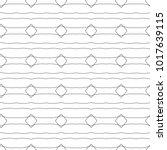 seamless geometric ornamental... | Shutterstock .eps vector #1017639115