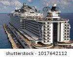 costa maya mexico caribbean ...   Shutterstock . vector #1017642112