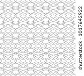 seamless vector pattern in... | Shutterstock .eps vector #1017642922