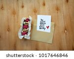 a note with do what makes your... | Shutterstock . vector #1017646846
