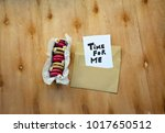 a note with time for me text on ... | Shutterstock . vector #1017650512