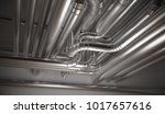 hvac  heating  ventilation and... | Shutterstock . vector #1017657616