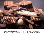 three different types of... | Shutterstock . vector #1017679402