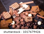 three different types of... | Shutterstock . vector #1017679426