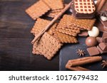three different types of... | Shutterstock . vector #1017679432